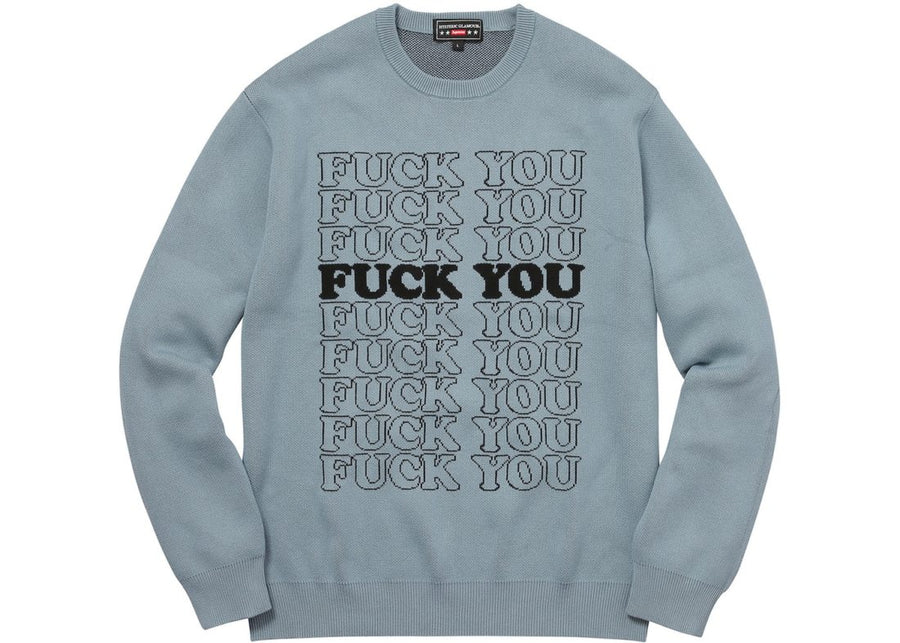 Hysteric Glamour F You Sweater