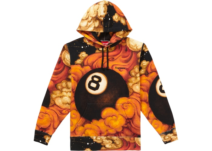 Martin Wong 8 Ball Hooded Sweatshirt