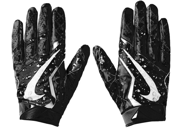 Nike Vapor Jet 4.0 Football Gloves Black