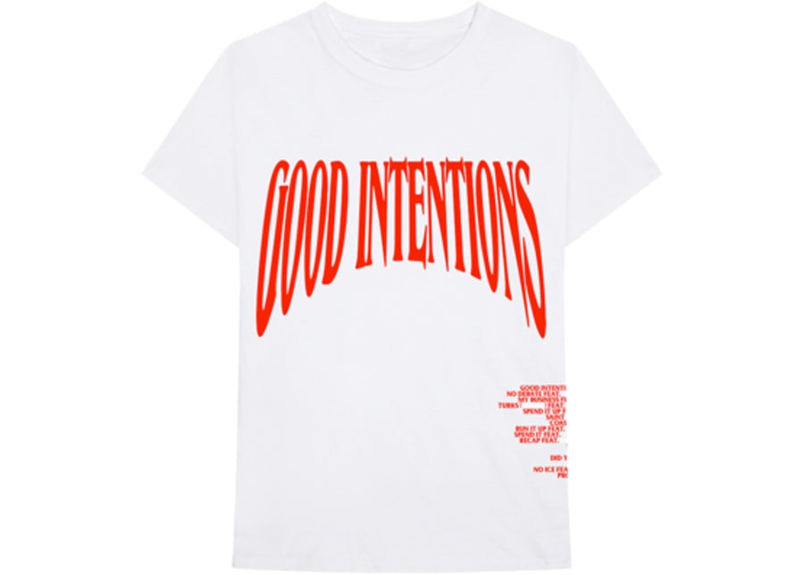 Good Intentions Tee White