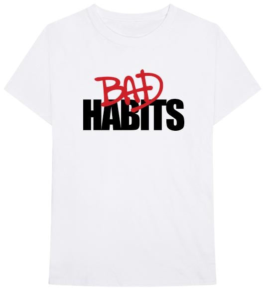 Bad Habits Tee White
