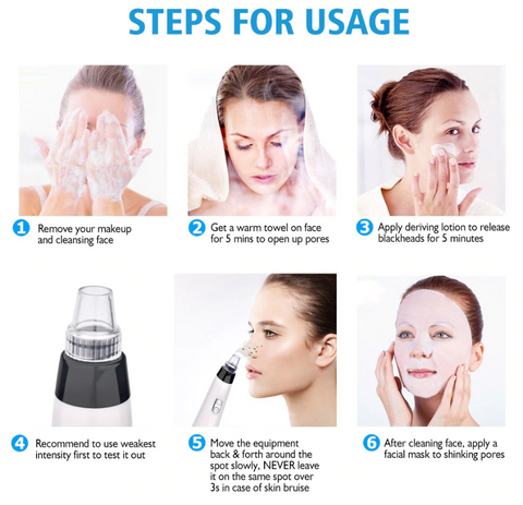 HailiCare™ Rechargeable Blackhead Remover + Pimple & Acne Suction Tool