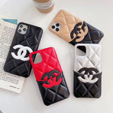 CC Designers Phone Case for iPhones with Card Holder