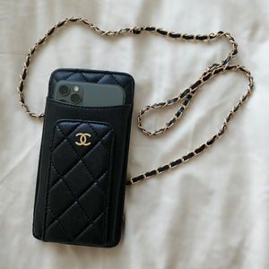 CC Designers Phone Bag with Card Holders