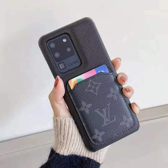 Luxury Cases for Android / Samsung with Card Holder (S21 Series Available)