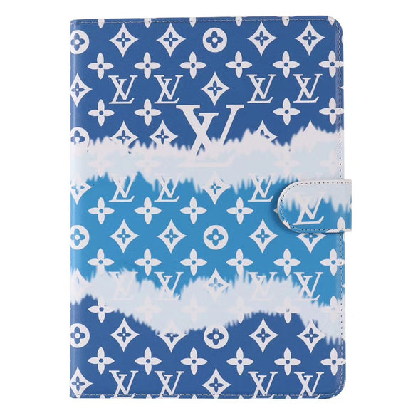 Blue Tie Dye Designers iPad Case