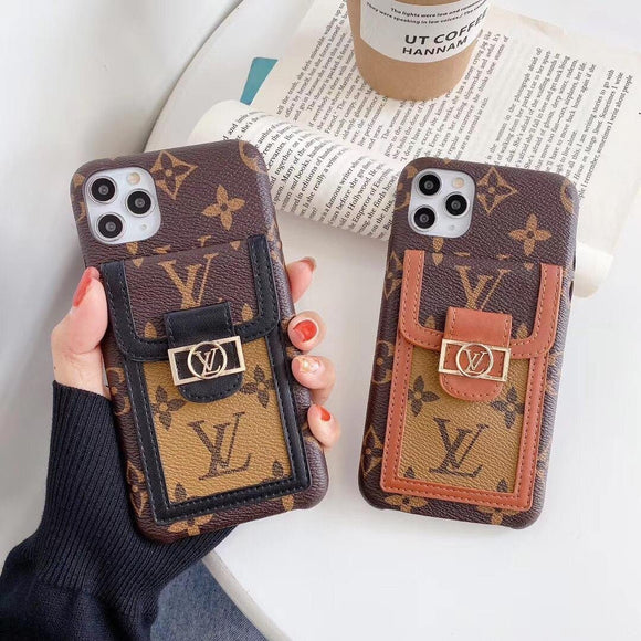 Designers Phone Case for iPhones with Card Holders