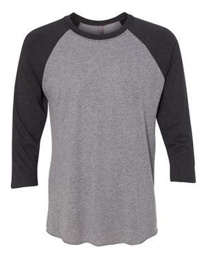 3/4 Sleeve Baseball Raglan T-Shirt