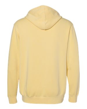 Pigment Dyed Pullover Hoodie