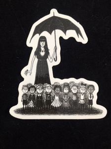"Landis Blair ""The Caitlin Crumb Tinies"" Sticker"