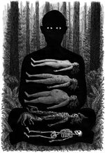 "Load image into Gallery viewer, Landis Blair ""Corpse Meditation"" Art Print"