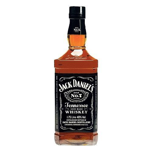 Jack Daniel's Whiskey Sour Mash Old No. 7 Black Label - 1.75L