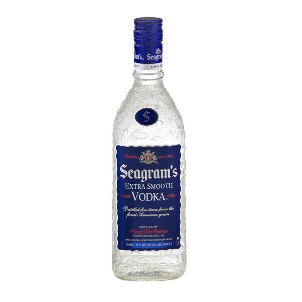 Seagram's Vodka Extra Smooth 750ML