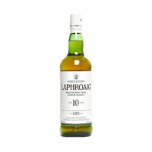 Laphroaig Scotch Single Malt 10 Year - 750ML