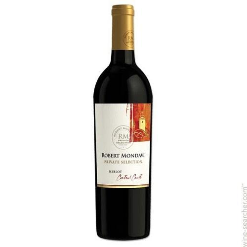 Robert Mondavi Merlot Private Selection California - 750ML