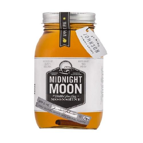 Midnight Moon Junior Johnson's Apple Pie Moonshine - 750ML