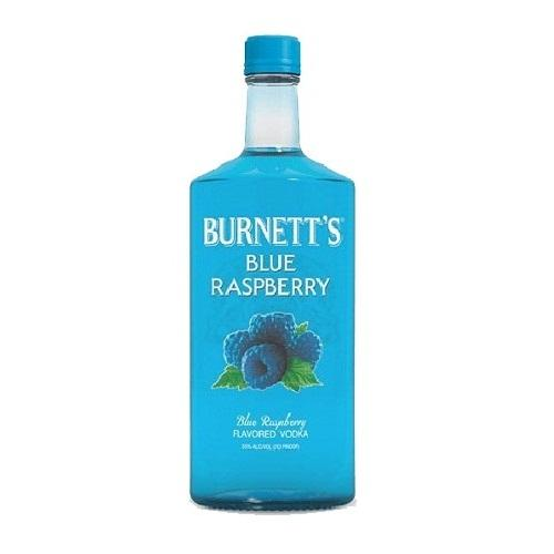 Burnett's Vodka Blue Raspberry - 750ML