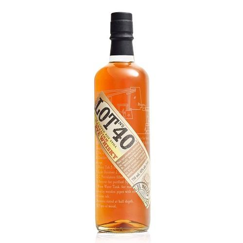 Lot No 40 Canadian Rye Whisky - 750ML