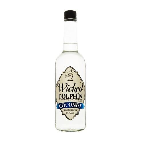 Wicked Dolphin Rum Coconut - 750ML