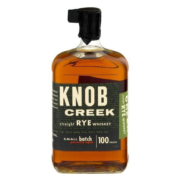 Knob Creek Rye Whiskey Small Batch - 1.75L