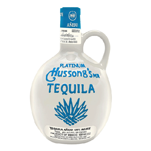 Hussong's Tequila Anejo Platinum - 750ML
