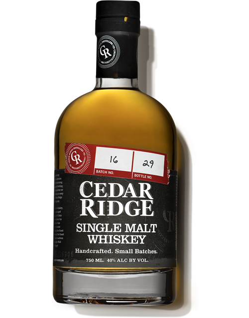 Cedar Ridge Whiskey Single Malt - 750ML
