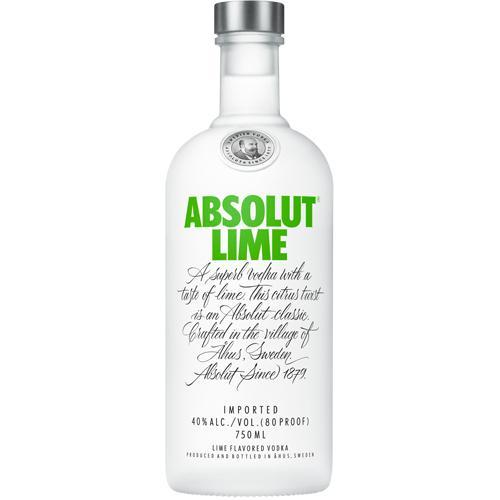 Absolut Vodka Lime - 750ML