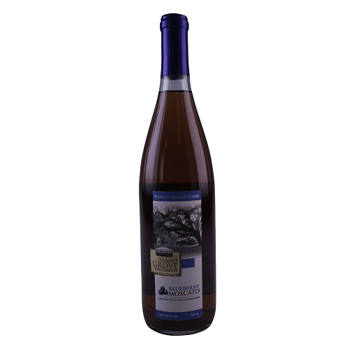 Island Grove Blueberry Moscato - 750ML