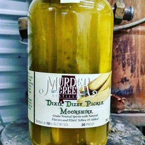 Murder Creek Pickle Moonshine - 750ML