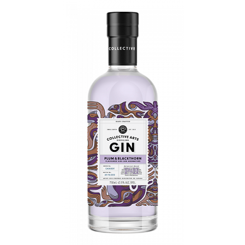 Collective Arts Plum & Blackthorn Gin - 750ML