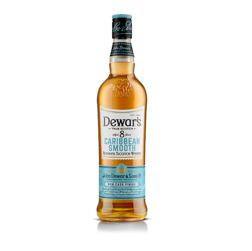 Dewars Caribbean Smooth Rum Cask Finish 750ML