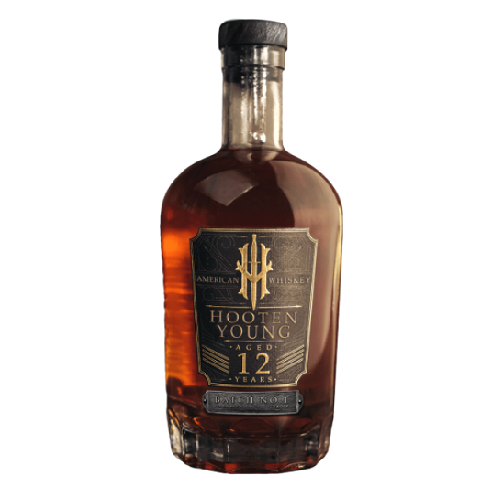 Hooten young American whiskey 12 year - 750ML
