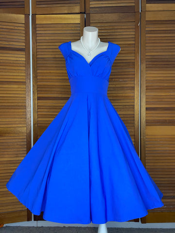 Royal Blue Shell Cut (Plus Sizes)