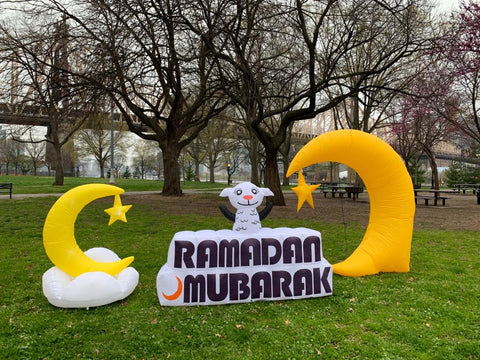 Setting up Your Ramadan and Eid Inflatables