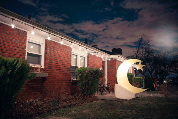 Inflatable Crescent Moon