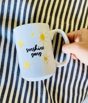 Sunshine Gang Ceramic Mug