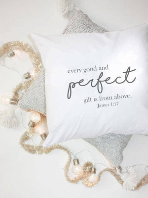 James 1:17 Perfect Pillow
