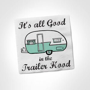 Twisted Napkins - Good in the Trailer Hood