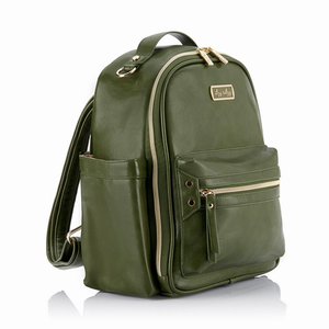 Olive Itzy Mini Diaper Bag Backpack