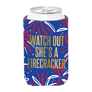 Insulated Can Cover - Firecracker