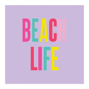 Beverage Napkins - Beach Life