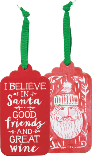 [CHRISTMAS] Bottle Tag - I Believe In Santa