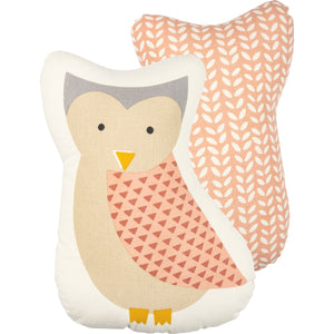 Owl Shaped Pillow