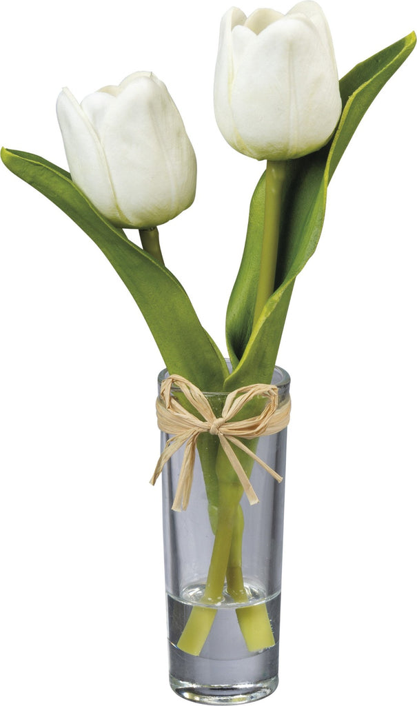 Cream Mini Tulip Vase