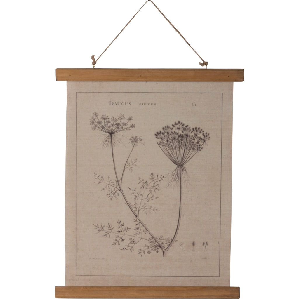 Wall Scroll - Queen Anne's Lace