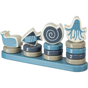 Stacking Toy - Under Sea Blue
