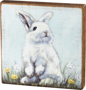 Block Sign - Rabbit