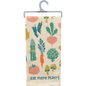 Dish Towel - Eat More Plants