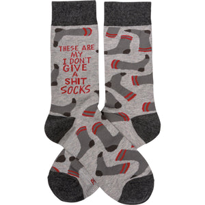 Socks - These Are My Don't Give A Shit Socks