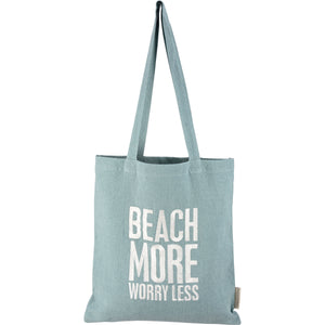 Tote - Beach More Worry Less